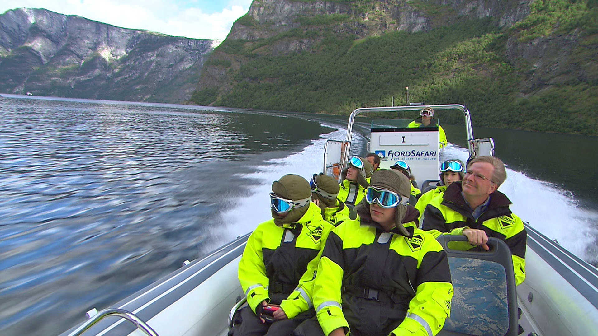 Rick Steves explores da fjords