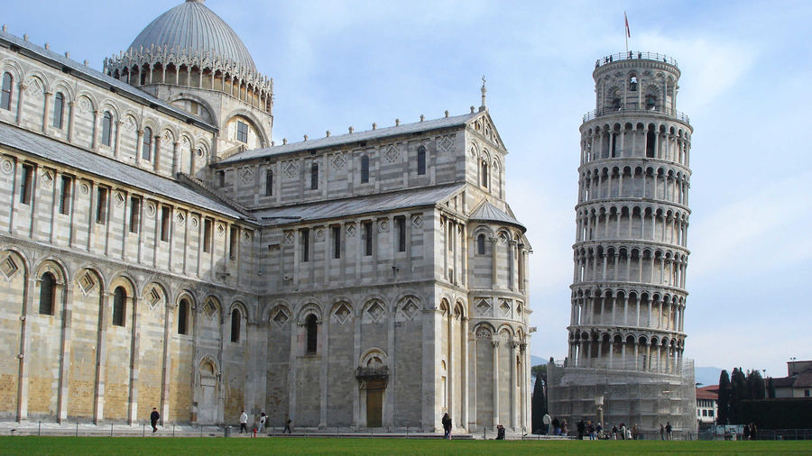 Cathedral and Tower, Pisa, Italy