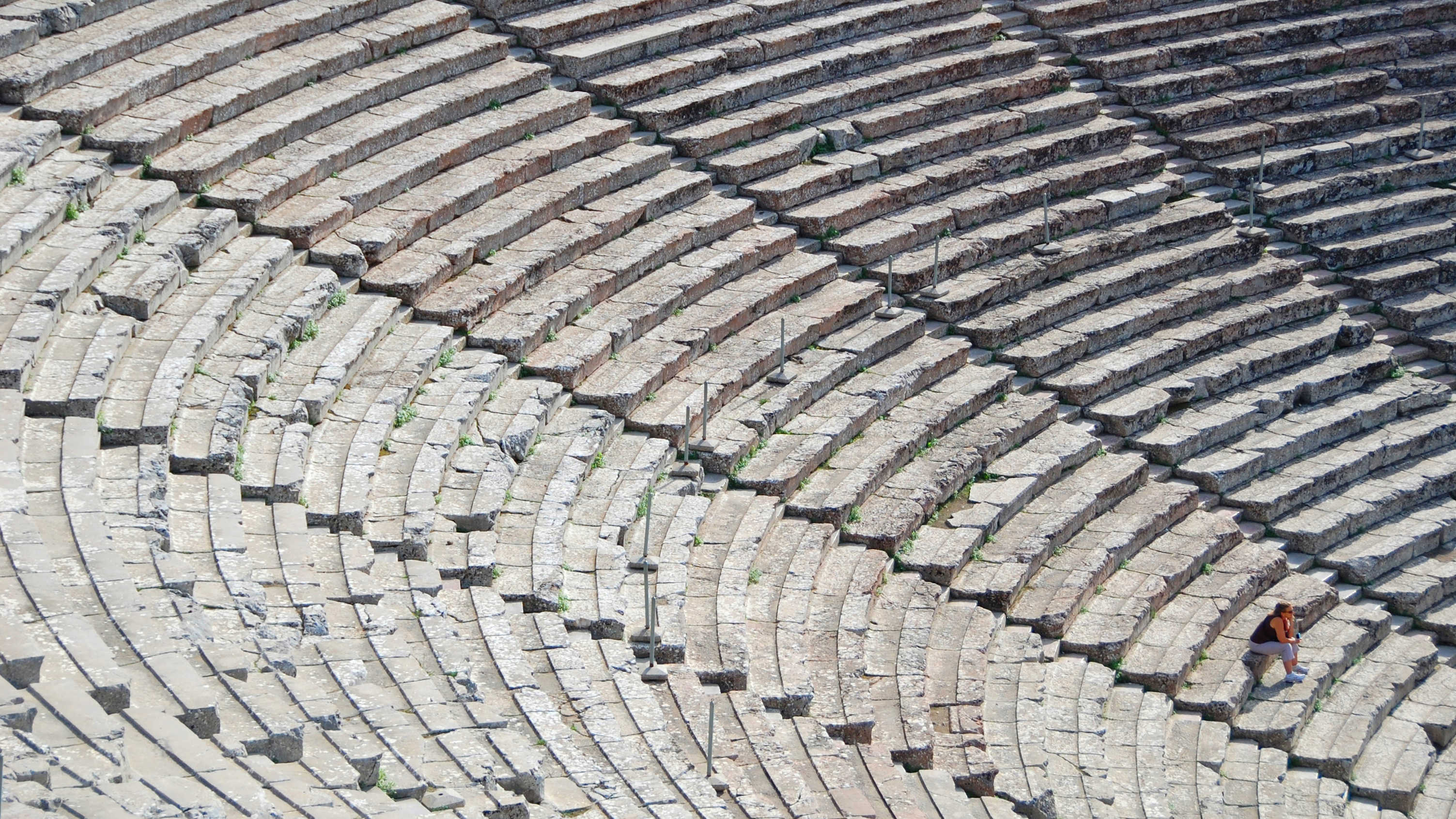 Theater in Epidavros, Greece