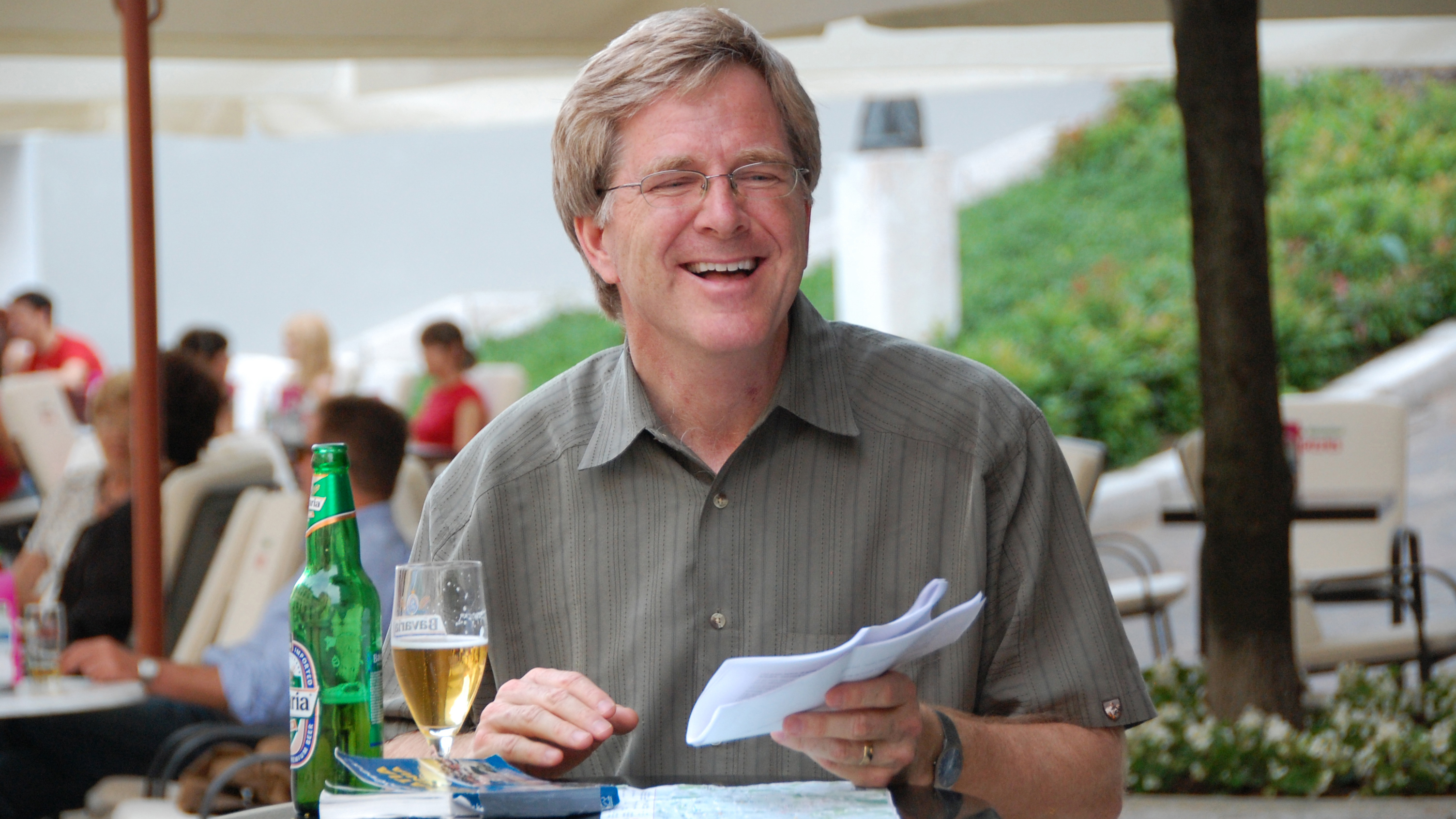 Rick Steves in Zagreb, Croatia