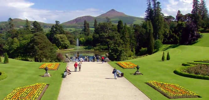 Powerscourt Estate Gardens, County Wicklow, Ireland