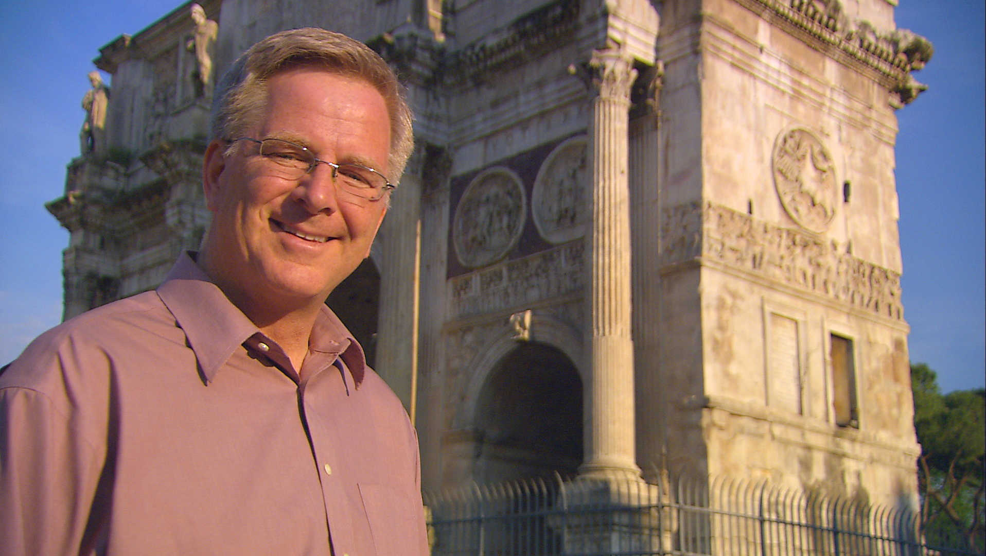 Rick Steves at the Forum