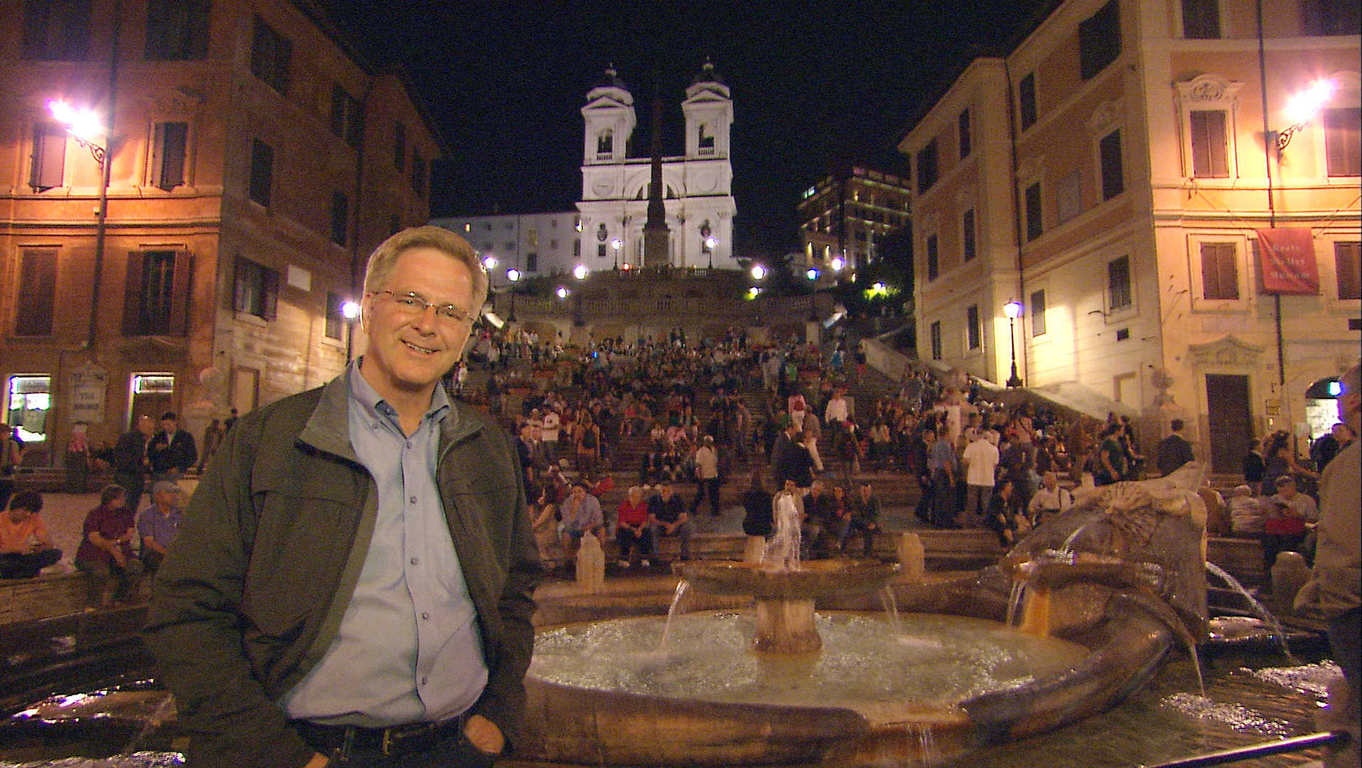 Rick at the Spanish Steps