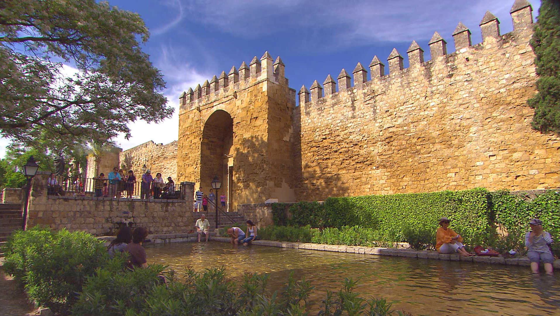 Castle in Cordoba