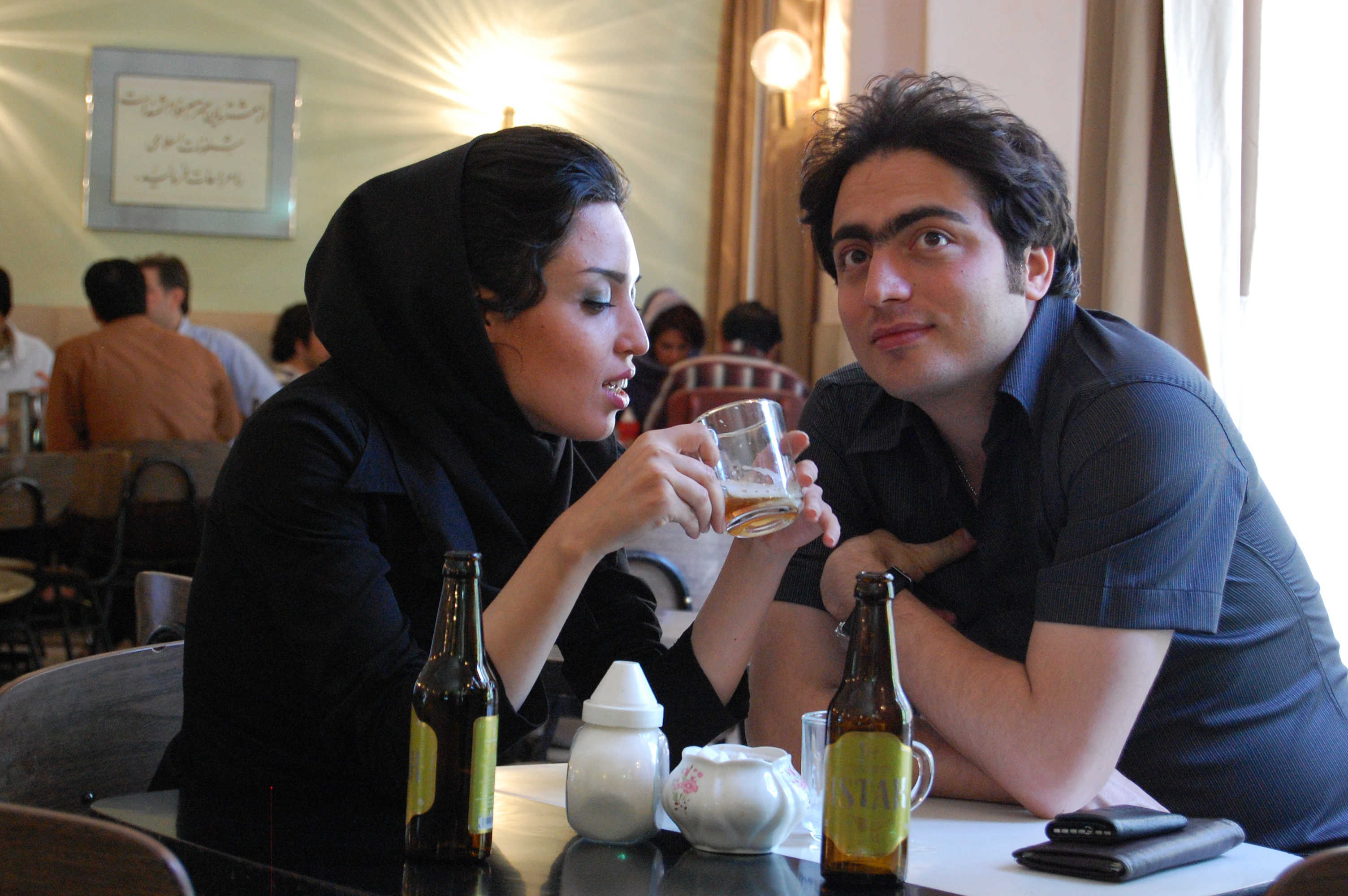 Young Iranian couple