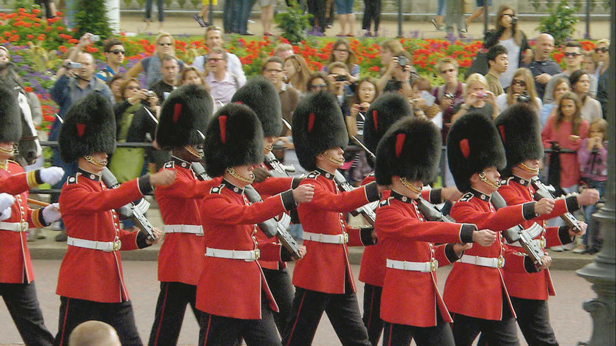 Changing of the Guard ceremony, London, England