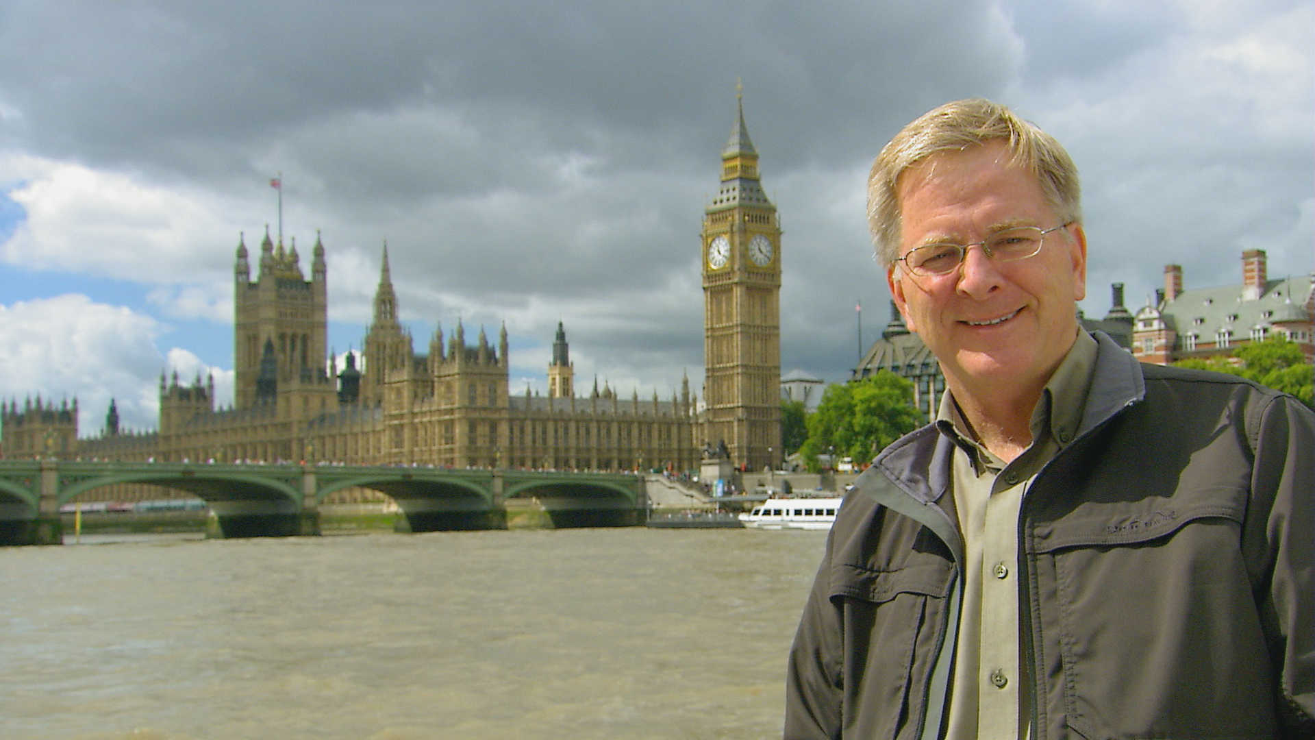 London: Rick Steves and the Parliament buildings
