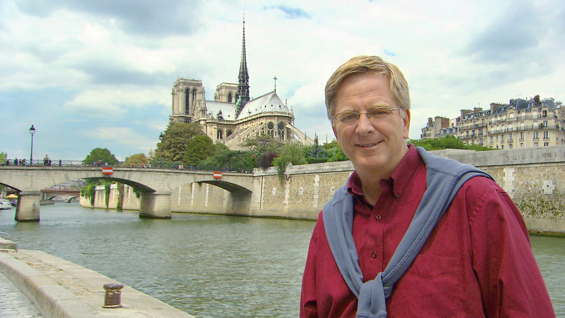 Paris: Rick Steves and Notre Dame