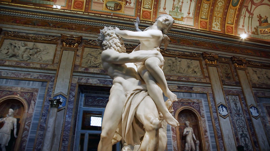 'The Rape of Proserpina' (Bernini), Borghese Gallery, Rome, Italy