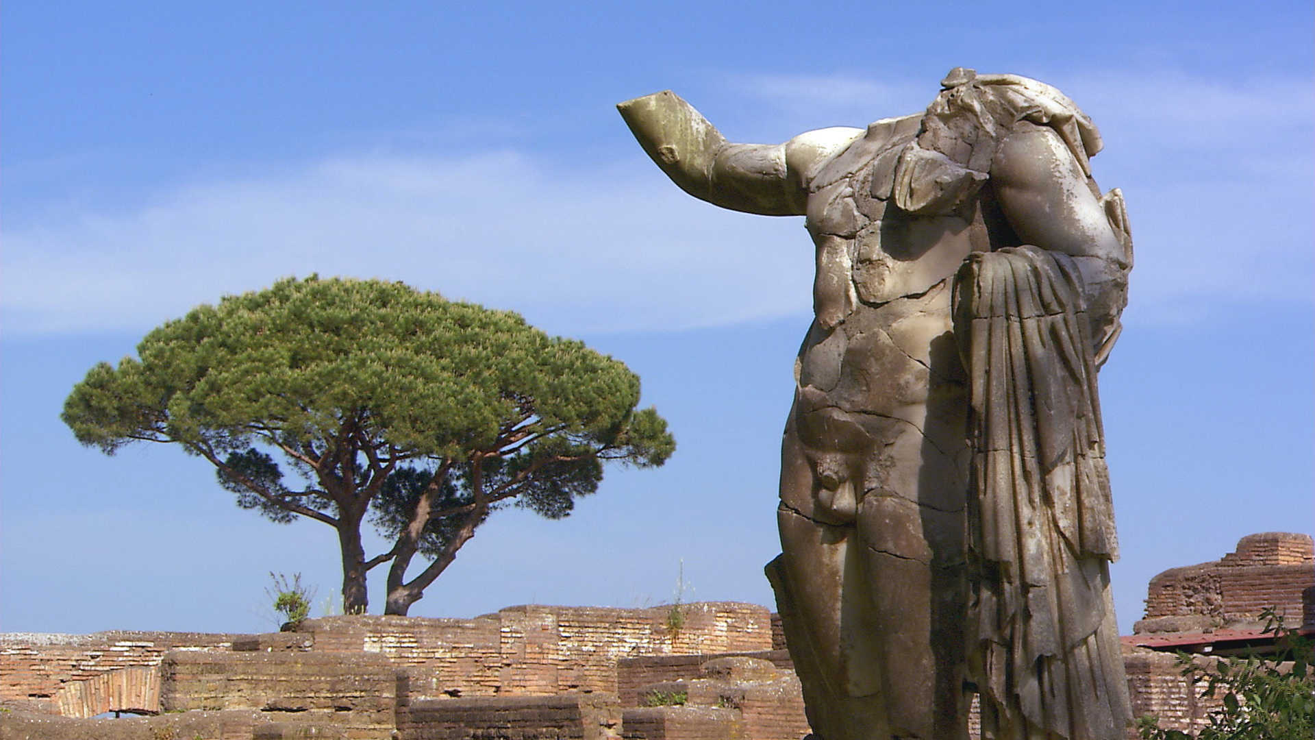 Rome: at the Ostia Antica