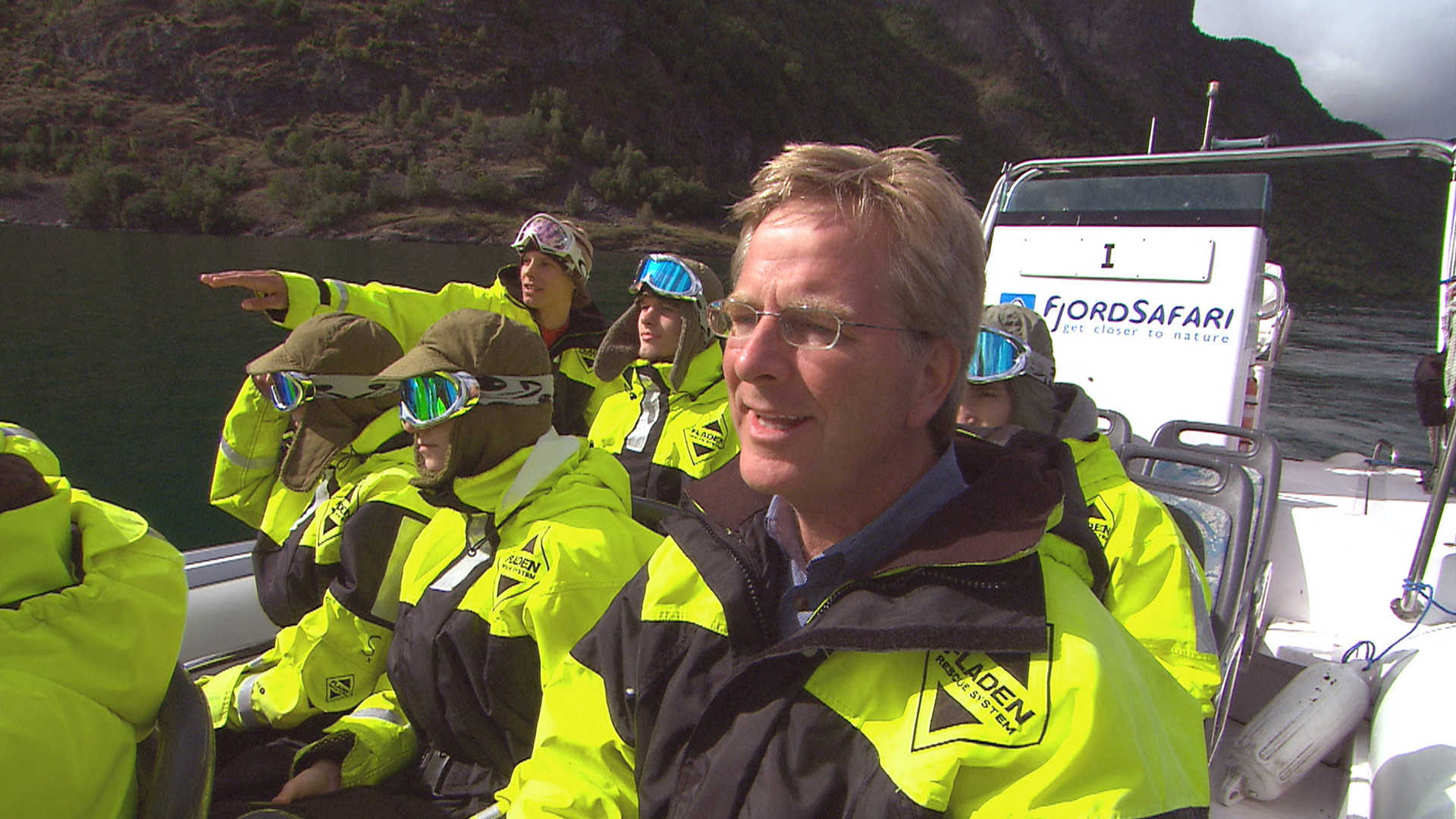 Rick Steves on safari in the fjords of Norway