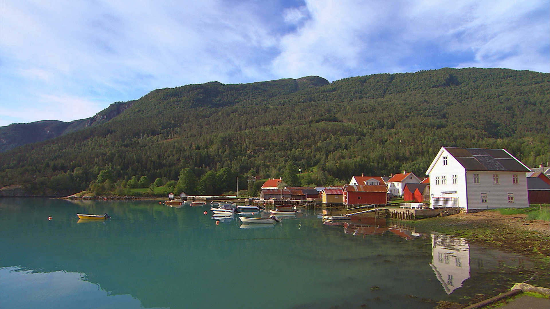 Solvorn, in western Norway