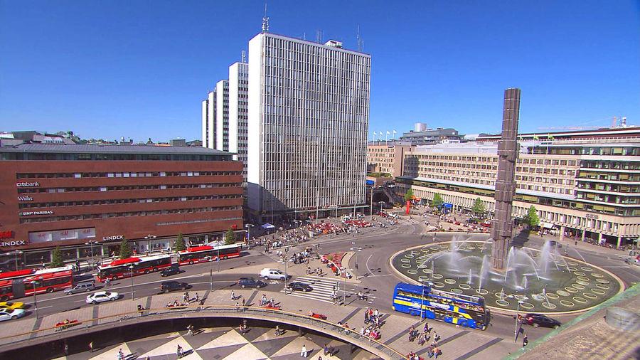 Sergels Torg square, Stockholm, Sweden