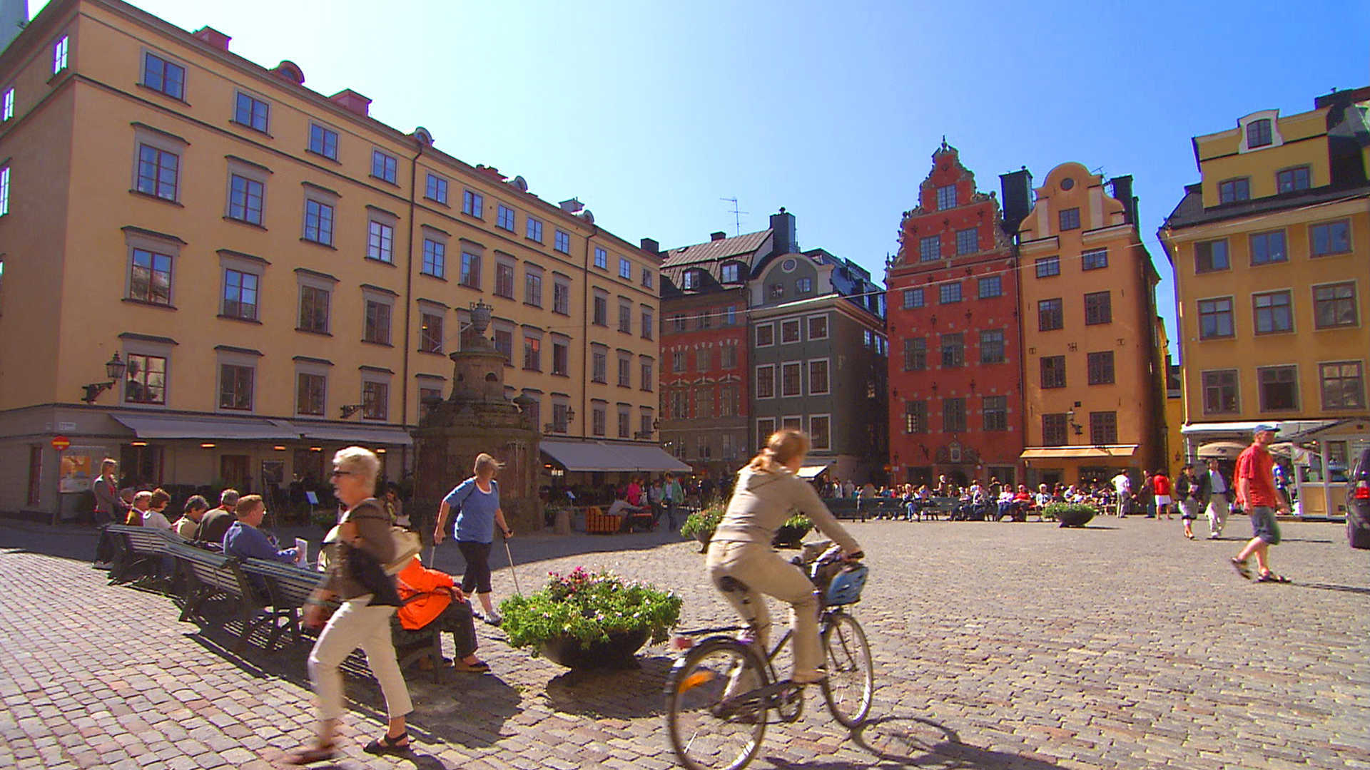 Stockholm's old town in Sweden