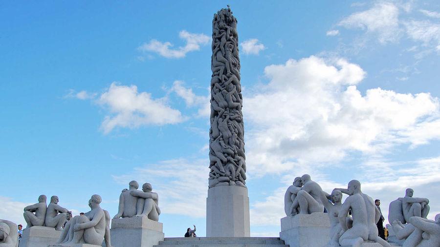 Vigeland sculptures, Vigeland Park, Oslo, Norway