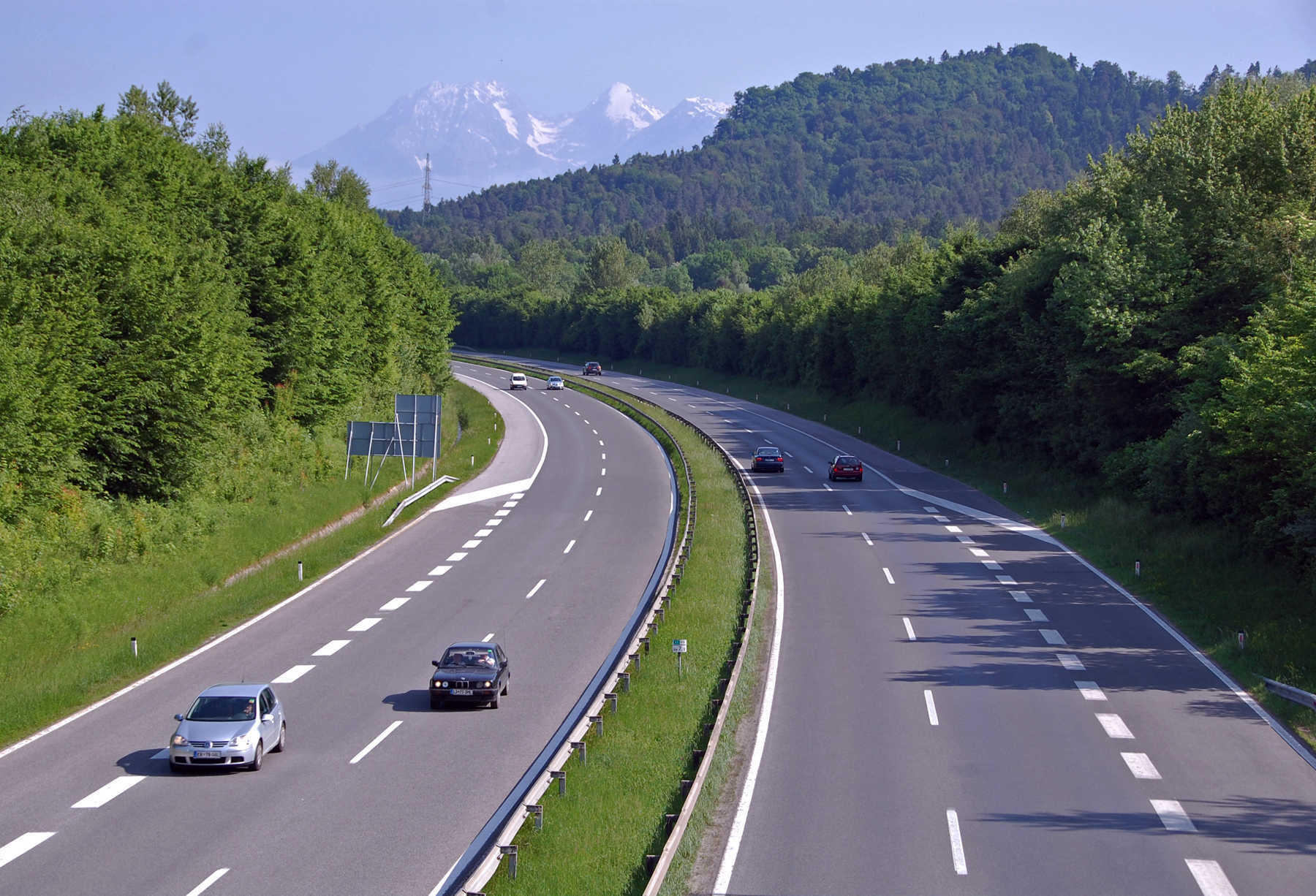 Slovenia freeway