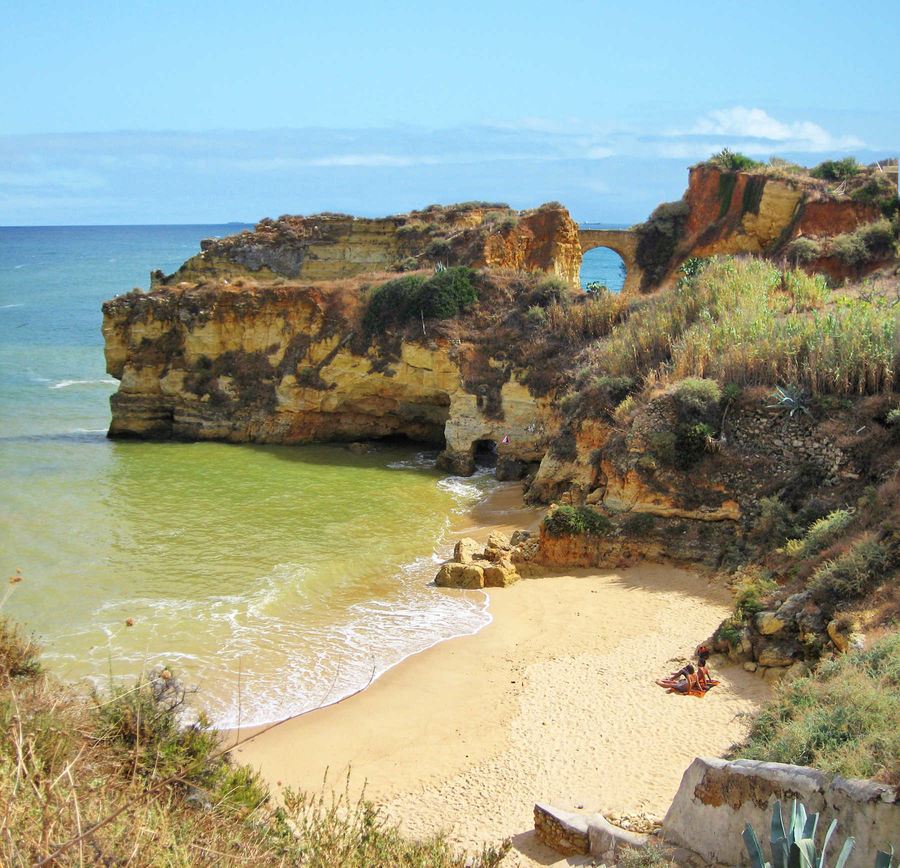 Beach in Algarve region, Portugal