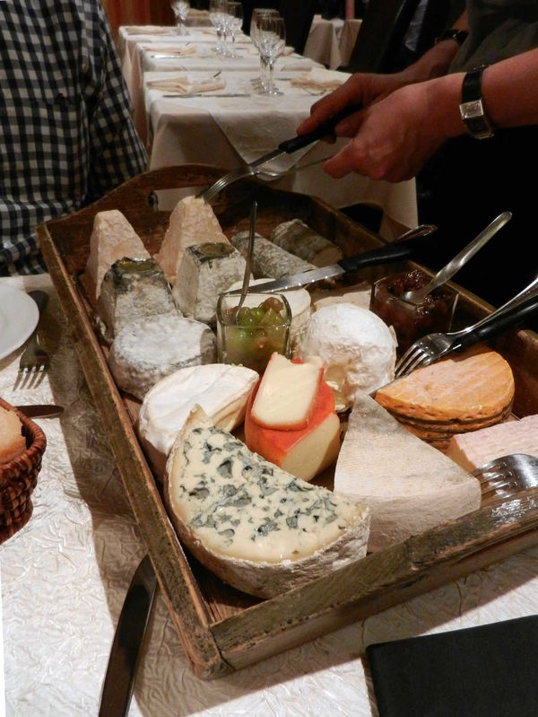 Cheese course, Loire Valley, France