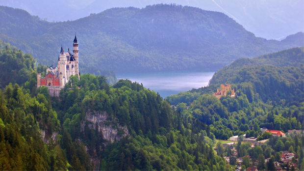 Neuschwanstein and Hohenschwangau castles, Schwangau, Germany