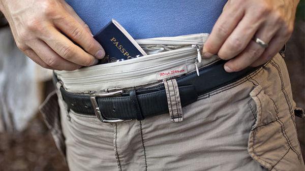 Using a money belt