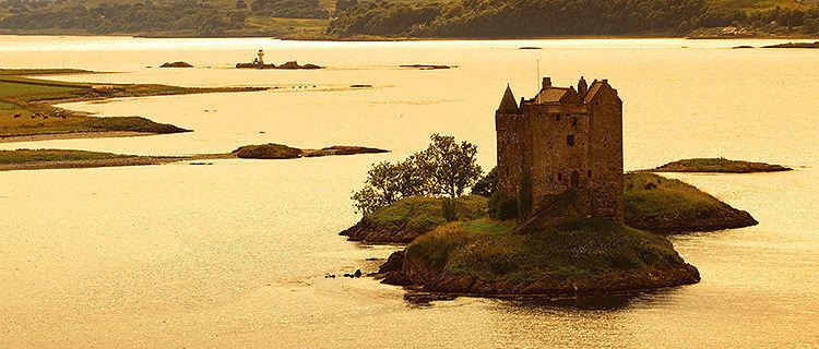 Stalker Castle, Loch Laich, Scotland