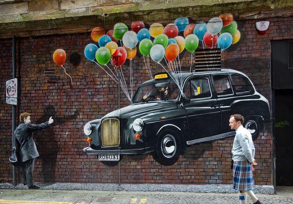 Mural, Glasgow, Scotland