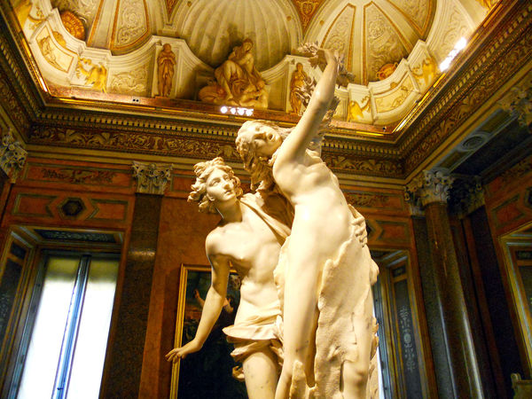 'Apollo and Daphne' (Bernini), Borghese Gallery, Rome, Italy