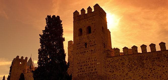 City walls, Toledo, Spain