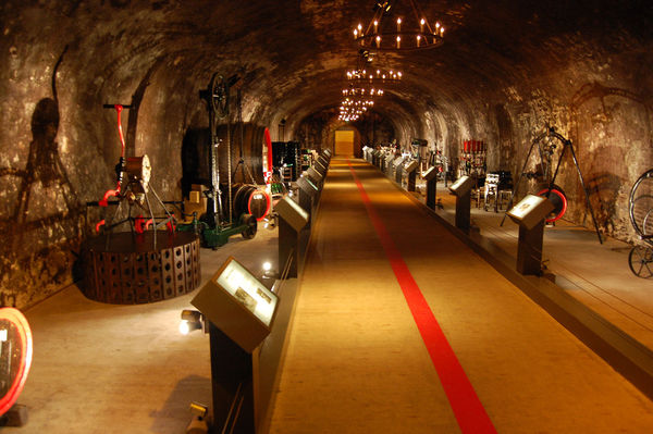 Mumm Champagne cellar, Reims, France