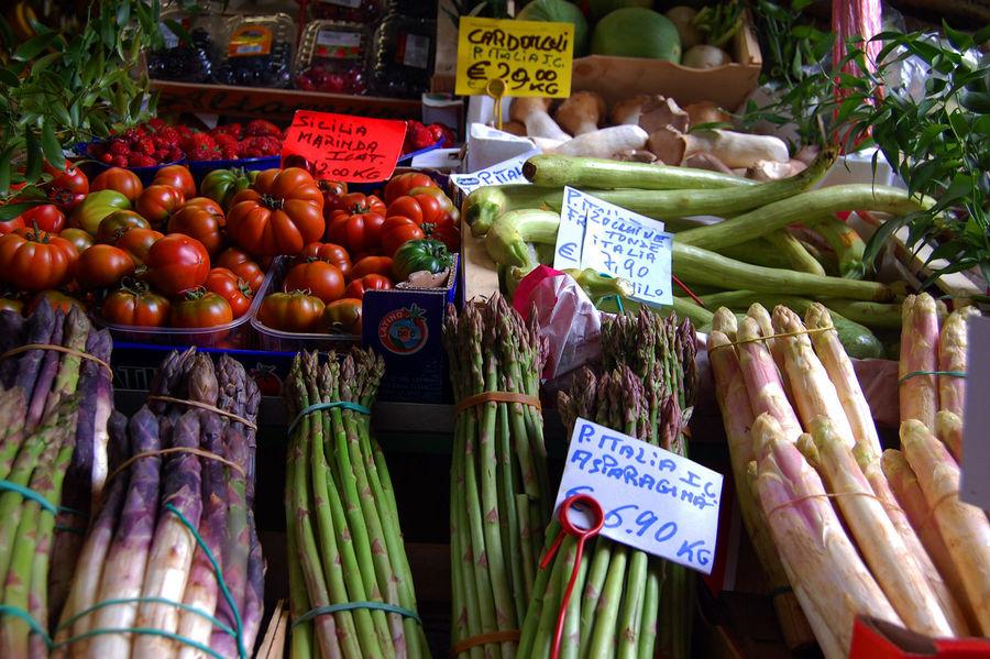 Produce market, Milan, Italy