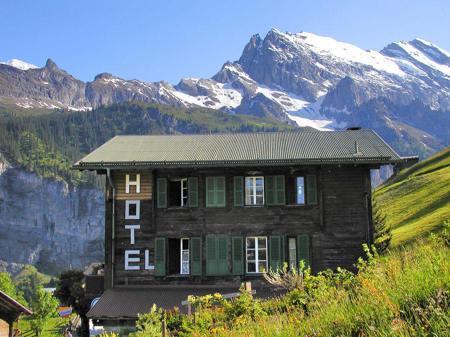 Hotel Mittaghorn, Gimmelwald, Switzerland