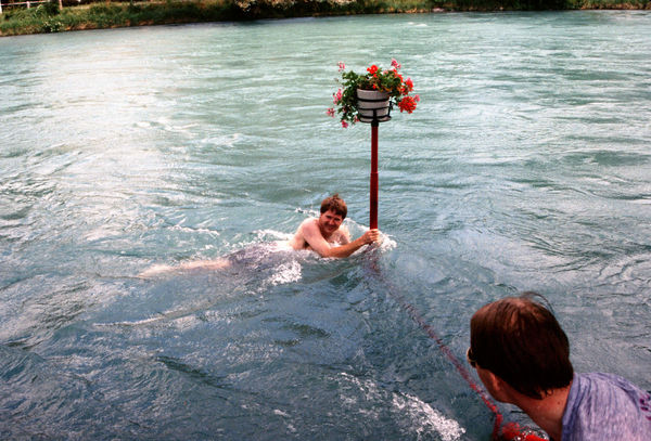 Aare River swim, Bern, Switzerland