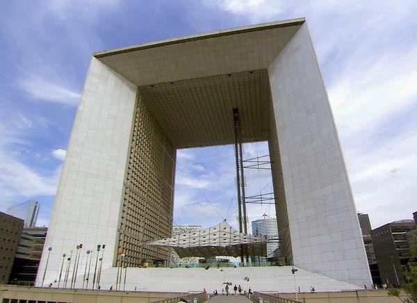 La Grande Arche de La Défense, Paris, France