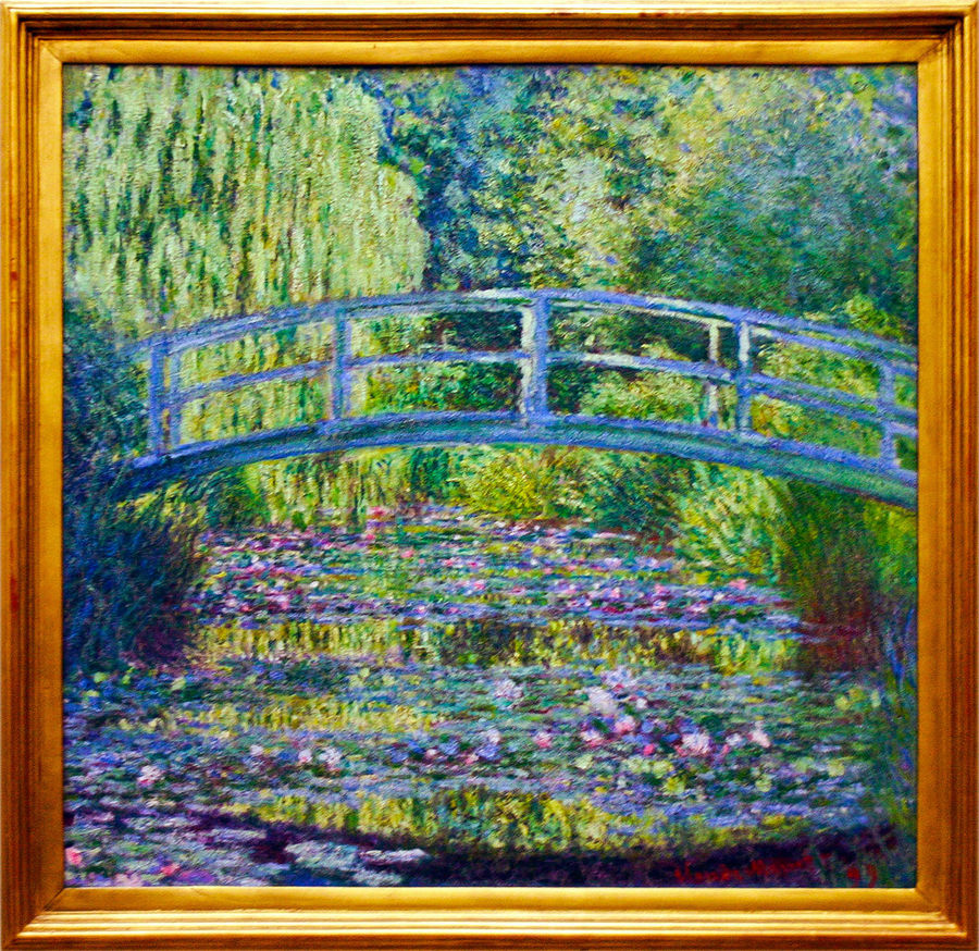 Le Bassin aux Nymphéas, Harmonie Verte by Claude Monet, Orsay Museum, Paris, France