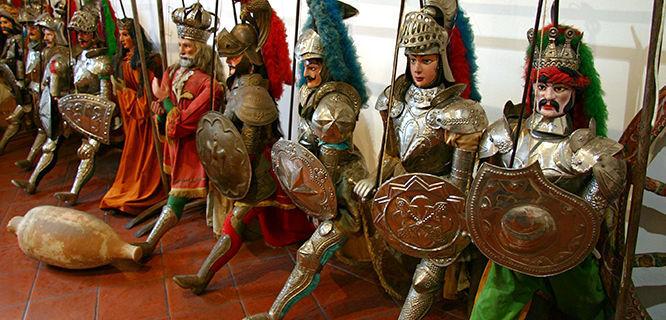 Puppet Museum, Taormina, Sicily, Italy