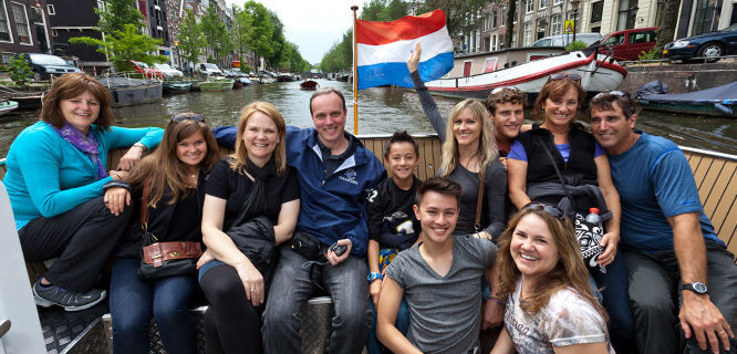 Canal cruise, Amsterdam, Netherlands