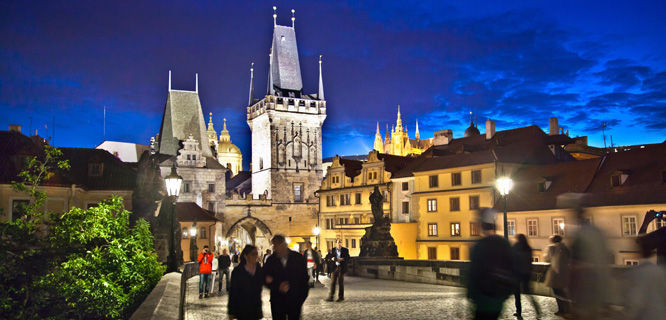 Charles Bridge and Little Quarter, Prague, Czech Republic