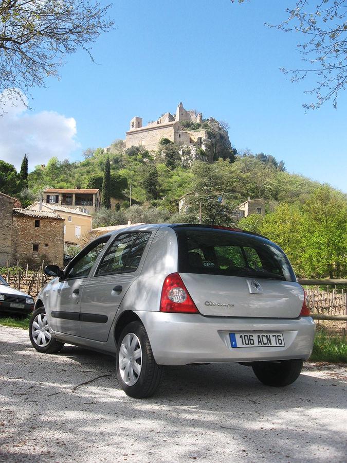 Rental car, France