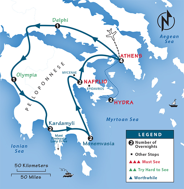 Greece Itinerary Where To Go In Greece By Rick Steves