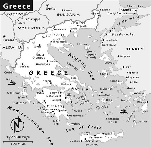 Greek island hopping basics by rick steves greeces islands and islets are scattered far and wide across the eastern mediterranean gumiabroncs Choice Image