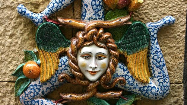 Trinacria symbol, Sicily
