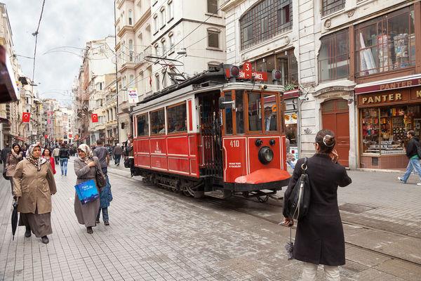 İstiklal Street, Istanbul, Turkey
