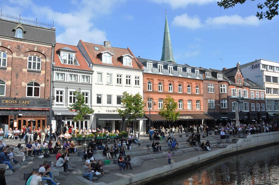 Canal neighborhood, Aarhus, Denmark
