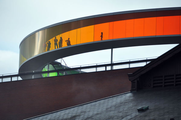 'Your Rainbow Panorama' by Olafur Eliasson, ARoS art museum, Aarhus, Denmark