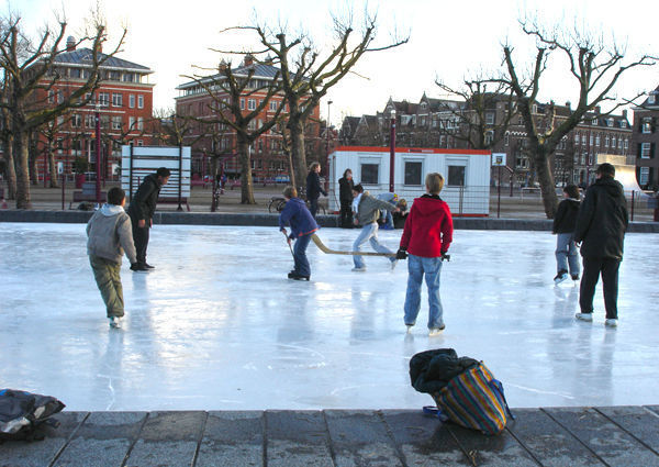 Ice hockey, Amsterdam, Netherlands