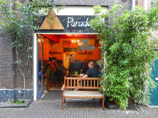 Paradox Coffeeshop, Amsterdam, Netherlands