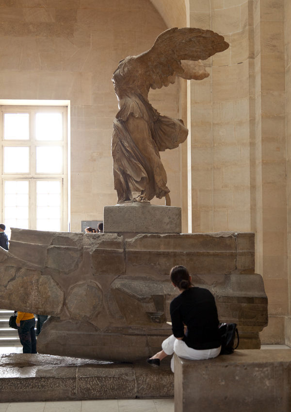 Winged Victory of Samothrace, Louvre Museum, Paris, France