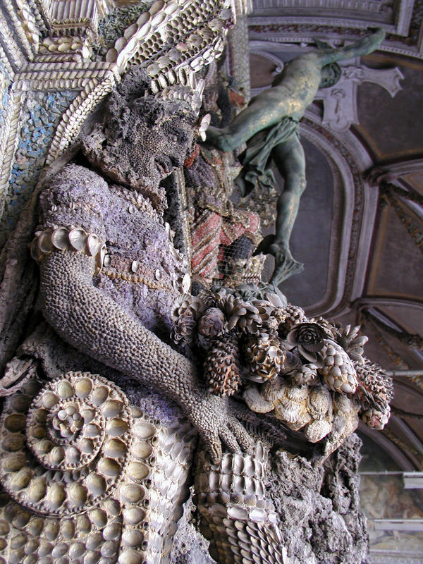 Shell grotto in Residenz palace, Munich, Germany