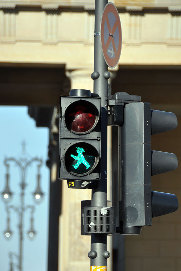 Ampelmann signal, Berlin, Germany