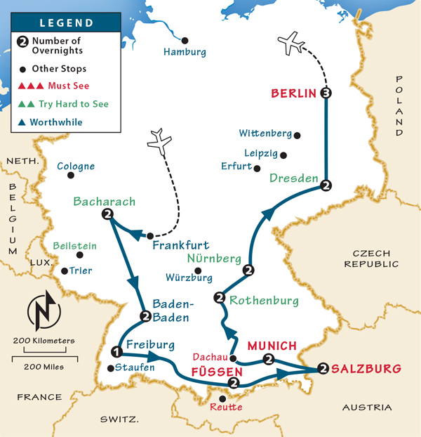 Germany Itinerary: Where to Go in Germany by Rick Steves